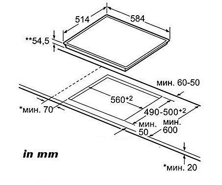 Bosch Pic645f17e Kombi Kochfeld Autark 2 X Induktion 2 X Ceran
