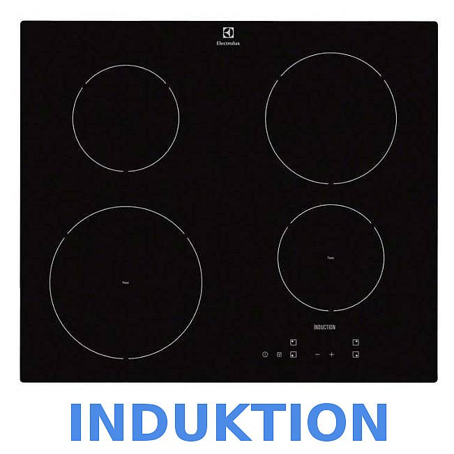 Induktion herd herdset electrolux autark backofen umluft for Herd set induktion