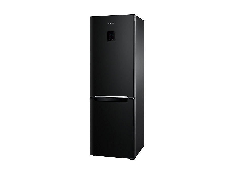 k hlschrank no frost 185cm k hl gefrier kombination schwarz samsung neu ebay. Black Bedroom Furniture Sets. Home Design Ideas