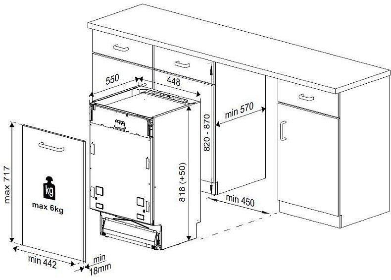 beko einbau sp lmaschine 45cm geschirrsp ler geschirrsp lmaschine a neu ebay. Black Bedroom Furniture Sets. Home Design Ideas