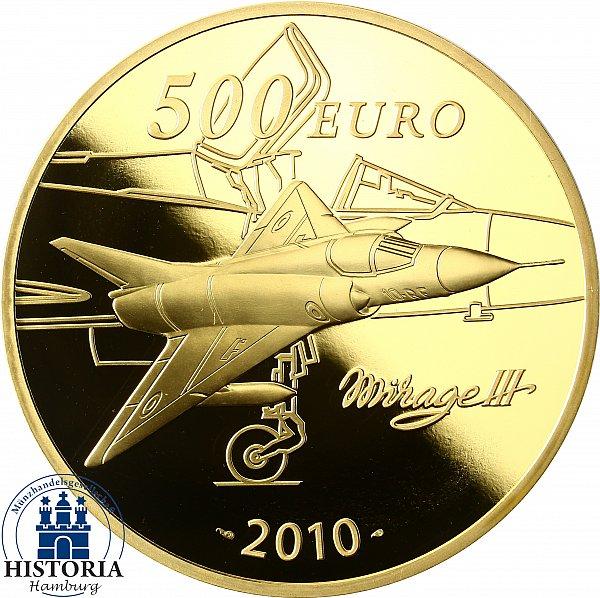Frankreich 500 Euro Gold Münze 2010 Pp 5 Oz Goldmünze Marcel