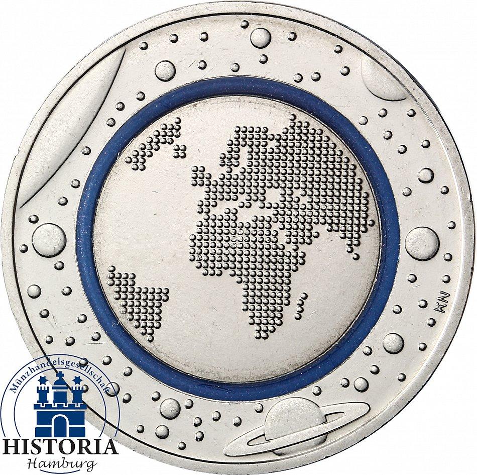 Deutschland 5 Euro 2016 Blauer Planet Erde Prägefrisch Münzzeichen