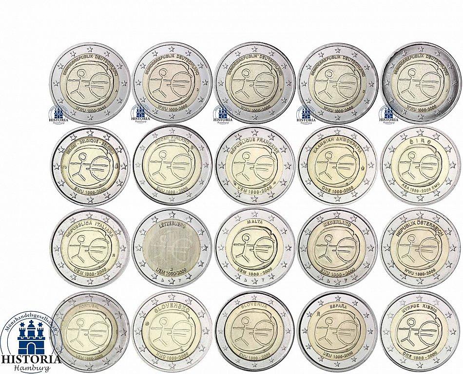 2 euro münzen aller länder