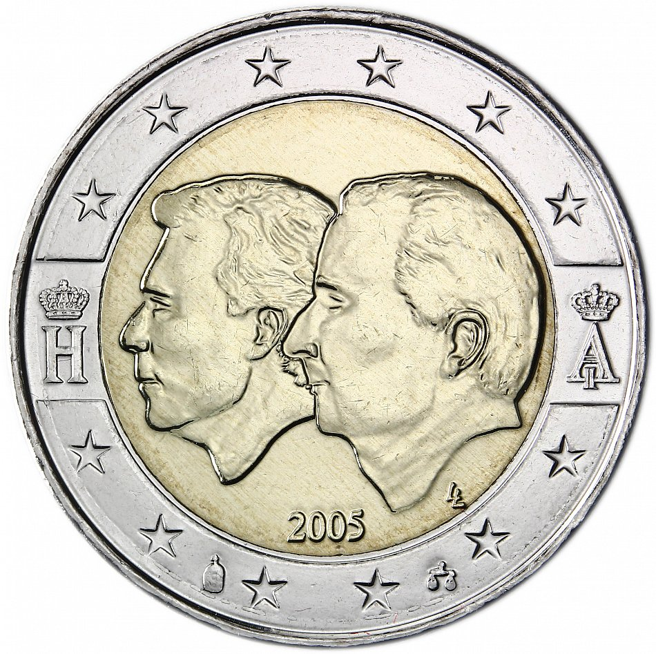 2 euro belgien