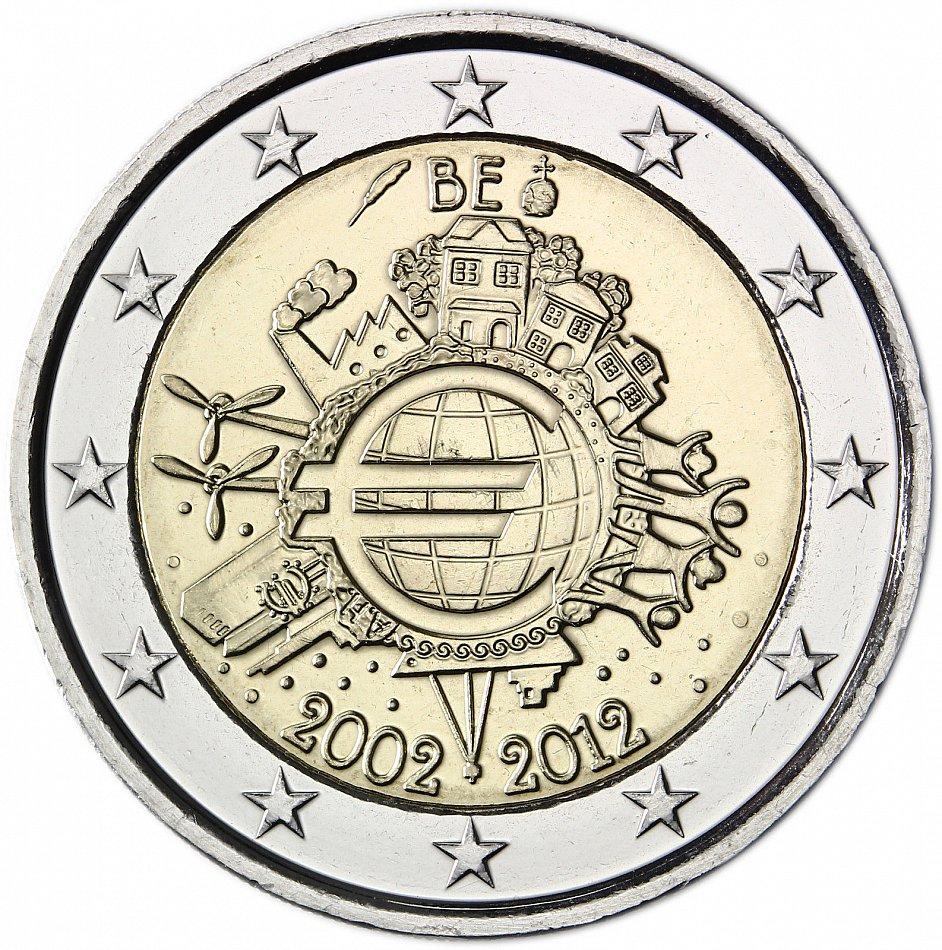 übersicht Aller 2 Euro Gedenkmünzen Aus Belgien Genomicsnu