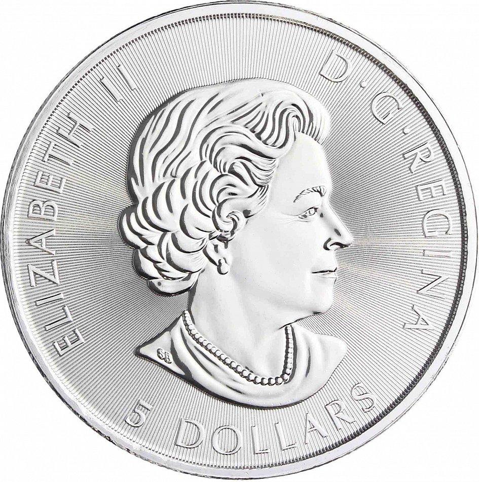 Kanada 5 Dollar Kanu 2017 Silber 1 Oz 150 Jahre Voyageur