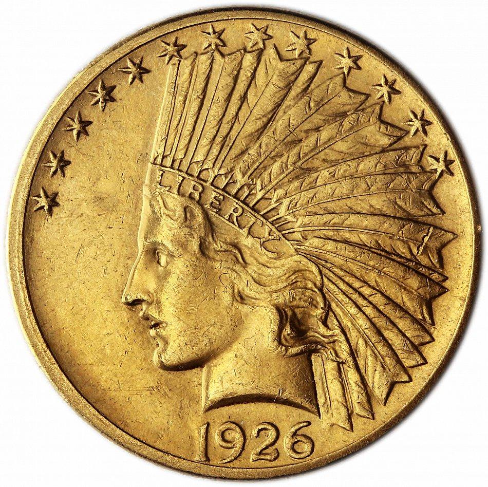 Usa 10 Dollar Gold 1926 Vz Goldmünze Indianer Kopf In Münzkapsel Ebay
