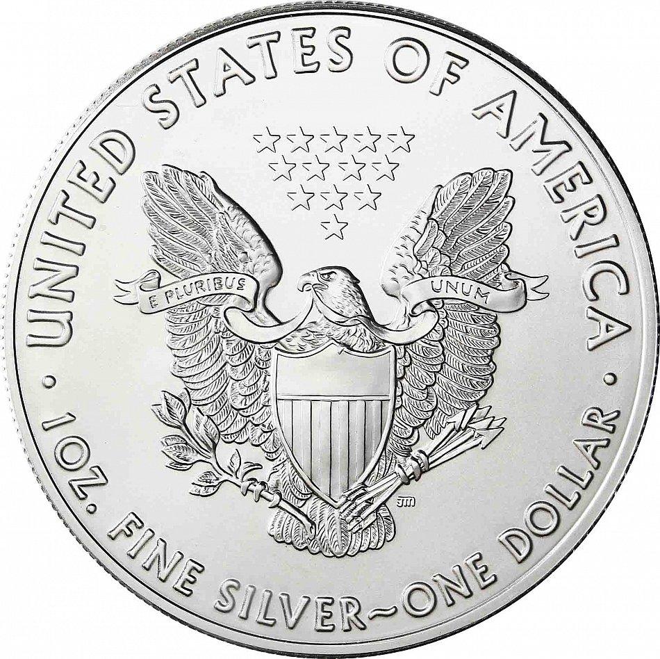 Usa 1 2018 Silver Eagle Silver Unit Coin Hologram Edition