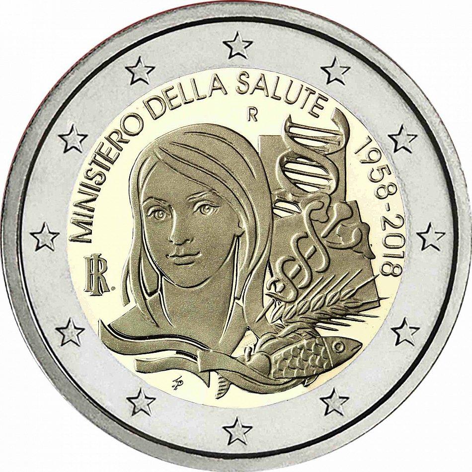 2 Euro Münzen Italien