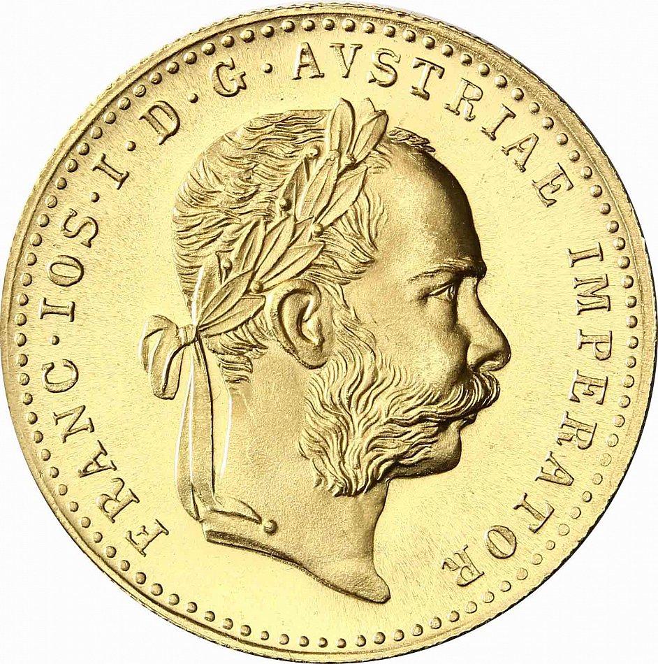 Oesterreich Ungarn 1 Dukat 1915 Kaiser Franz Joseph Und Doppeladler