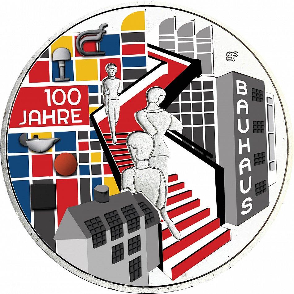 Deutschland 20 Euro 2019 Bauhaus Silber Gedenkmünze In