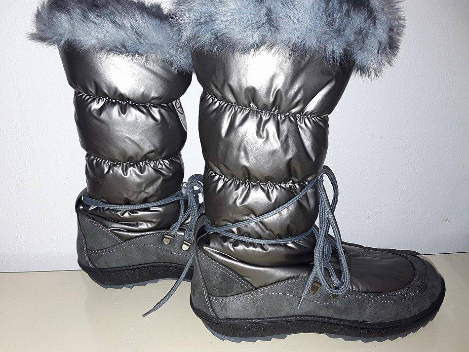 Winterschuh winterstiefel stiefel gr 39 40 for Bunter schuhschrank