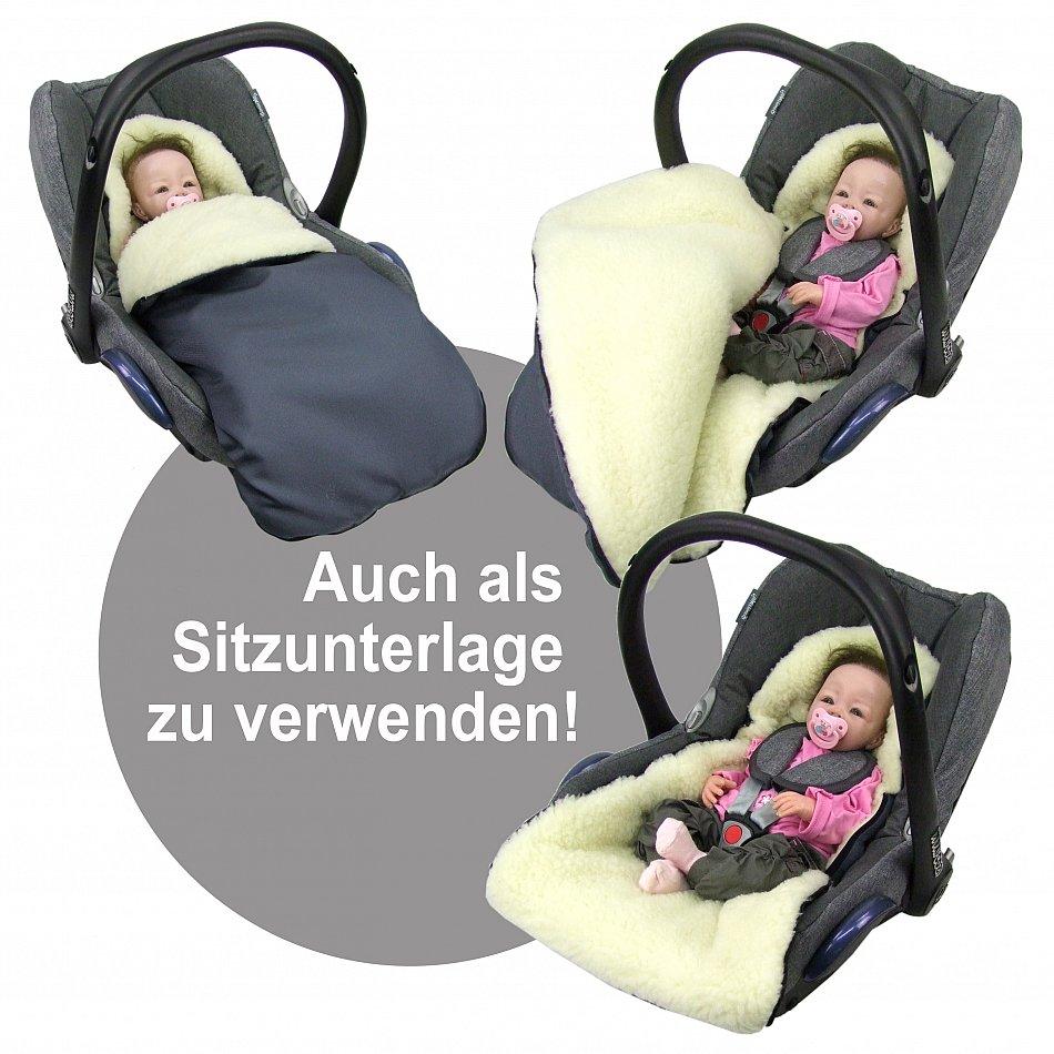 rawstyle winterfu sack universal f r babyschalen maxi. Black Bedroom Furniture Sets. Home Design Ideas