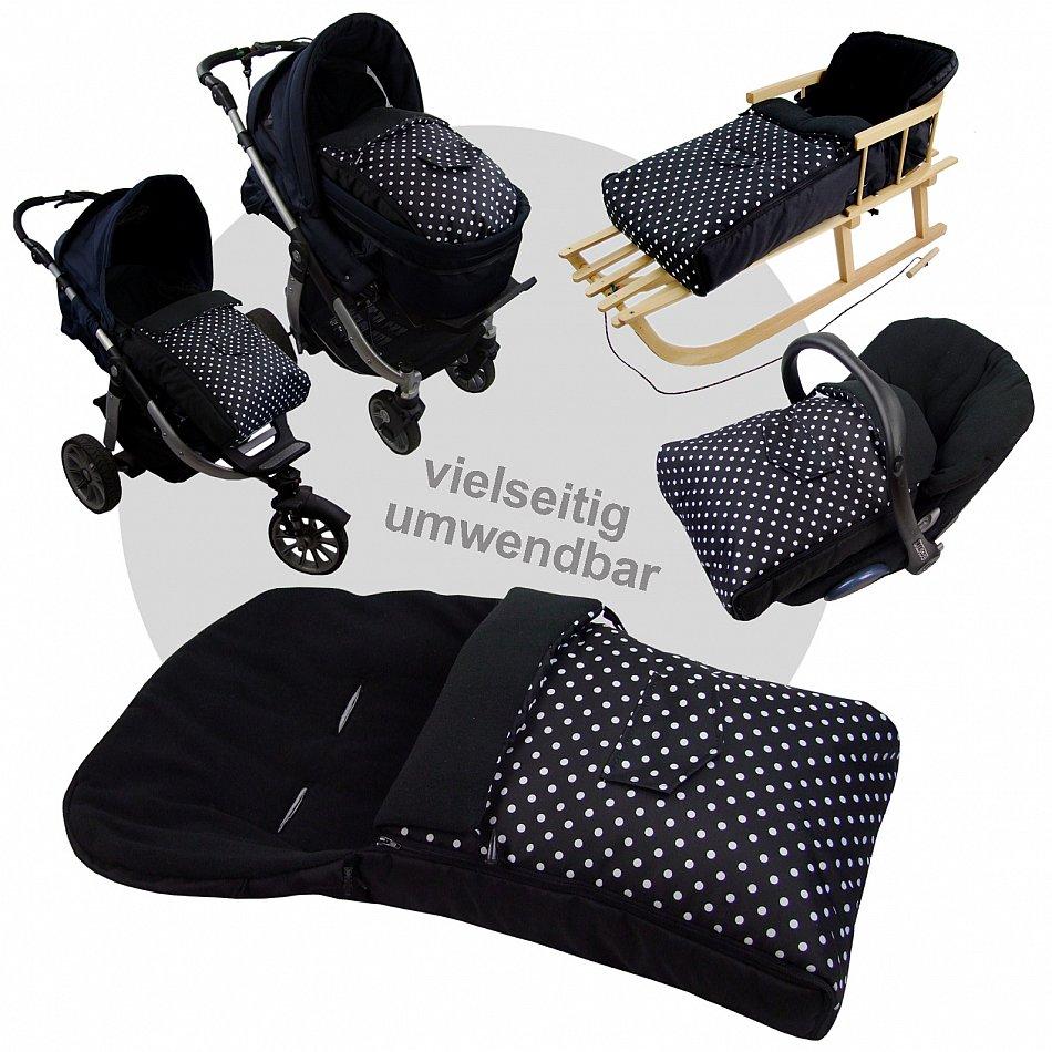 rawstyle schlitten fu sack 90cm oder108cm kombi buggy. Black Bedroom Furniture Sets. Home Design Ideas