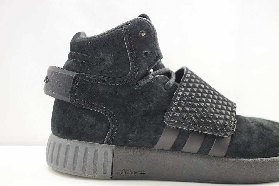 6c54c1b68b2 Adidas TUBULAR INVADER STRAP C BA7341 Black Kinderschuhe | eBay