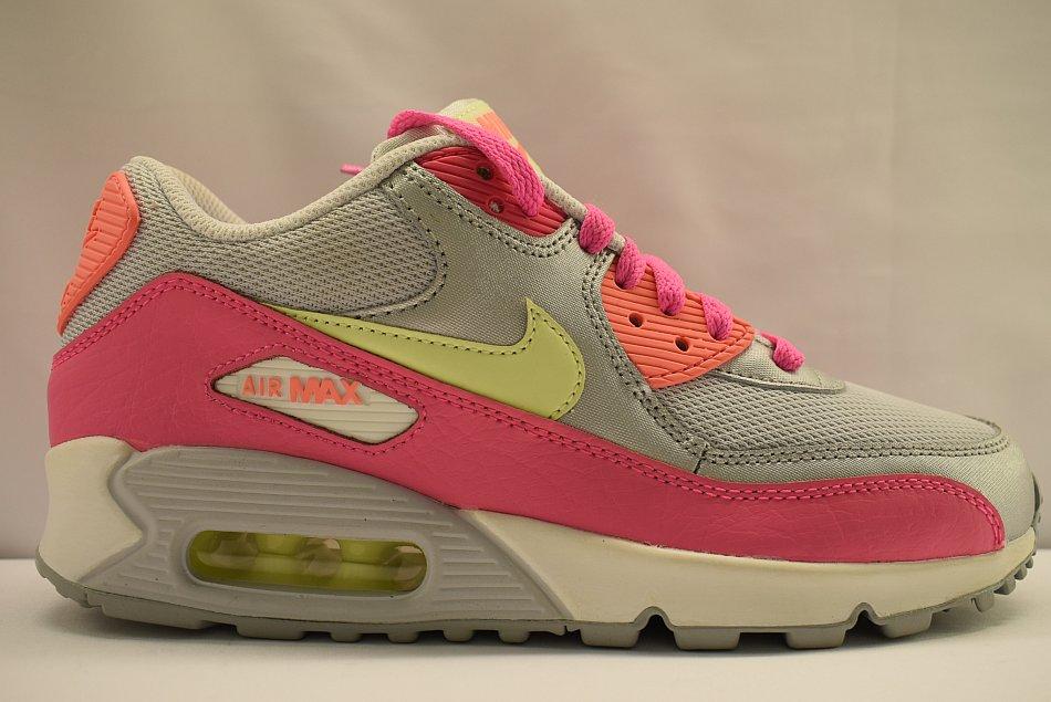 Details zu NIKE AIR MAX 90 MESH GS 724855 001 Sneaker