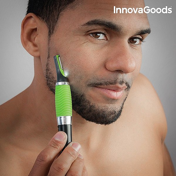 geeignet um haare zu schneiden und zu rasieren einsatzbereiche nase ohren augenbrauen koteletten schnurrbart bart nacken schultern arme brust - Muster In Haare Rasieren