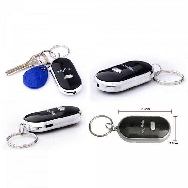 Schlüsselsucher Key Finder 2x Schlüsselfinder Led-lampe Schlüsselanhänger