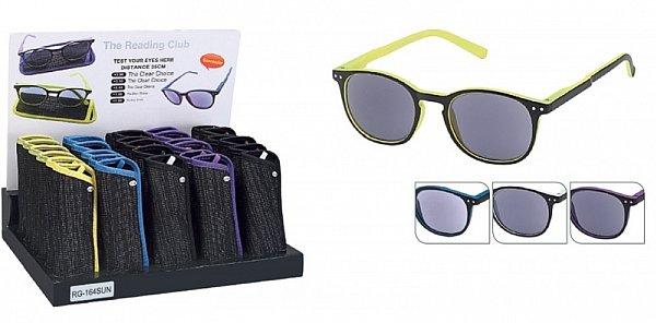 2in1 sonnenbrille sehst rke sonnenlesebrille mit etui. Black Bedroom Furniture Sets. Home Design Ideas