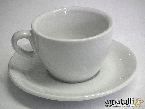 cappuccinotassen 12 tlg cappuccino tasse ipa aosta weiss porzellan italien ebay. Black Bedroom Furniture Sets. Home Design Ideas
