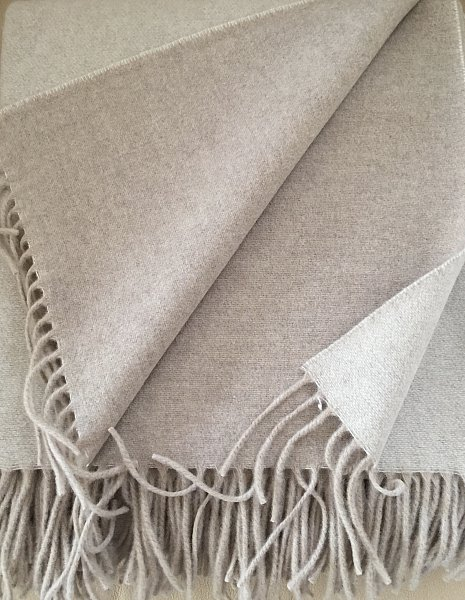 Cashmere Tagesdecke.Wool Plaid Both Sides With Cashmere Wool Bedspread 135x165 Cm 100