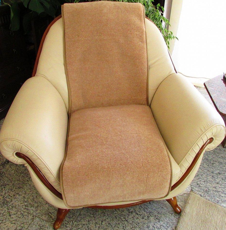 couch berwurf set wolldecke und ein sesselschoner ebay. Black Bedroom Furniture Sets. Home Design Ideas
