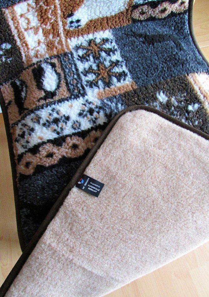 sesselschoner doppelseitig aus lama wolle 1 st ck 40x200. Black Bedroom Furniture Sets. Home Design Ideas