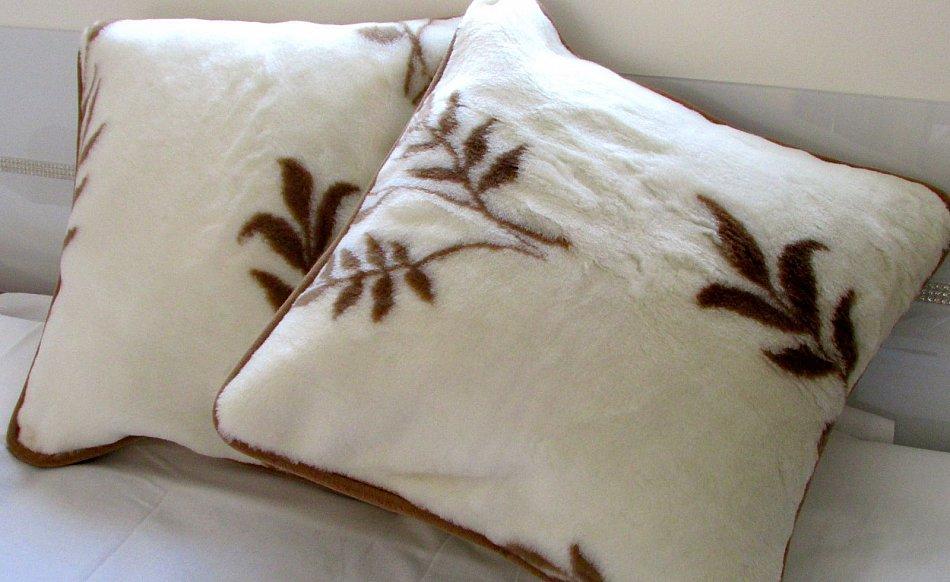 kopfkissenset zweige 2 st ck dekokissen kaschmir ebay. Black Bedroom Furniture Sets. Home Design Ideas