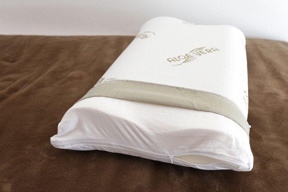 komfort schlafkissen kopfkissen ortho nackenst tzkissen aloe vera latexschaum ebay. Black Bedroom Furniture Sets. Home Design Ideas