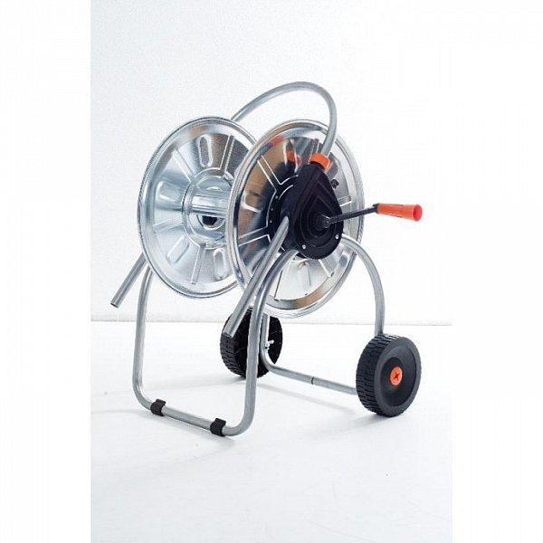 schlauchwagen metall gartenschlauchwagen gartenschlauch wagen verzinkt abroller ebay. Black Bedroom Furniture Sets. Home Design Ideas