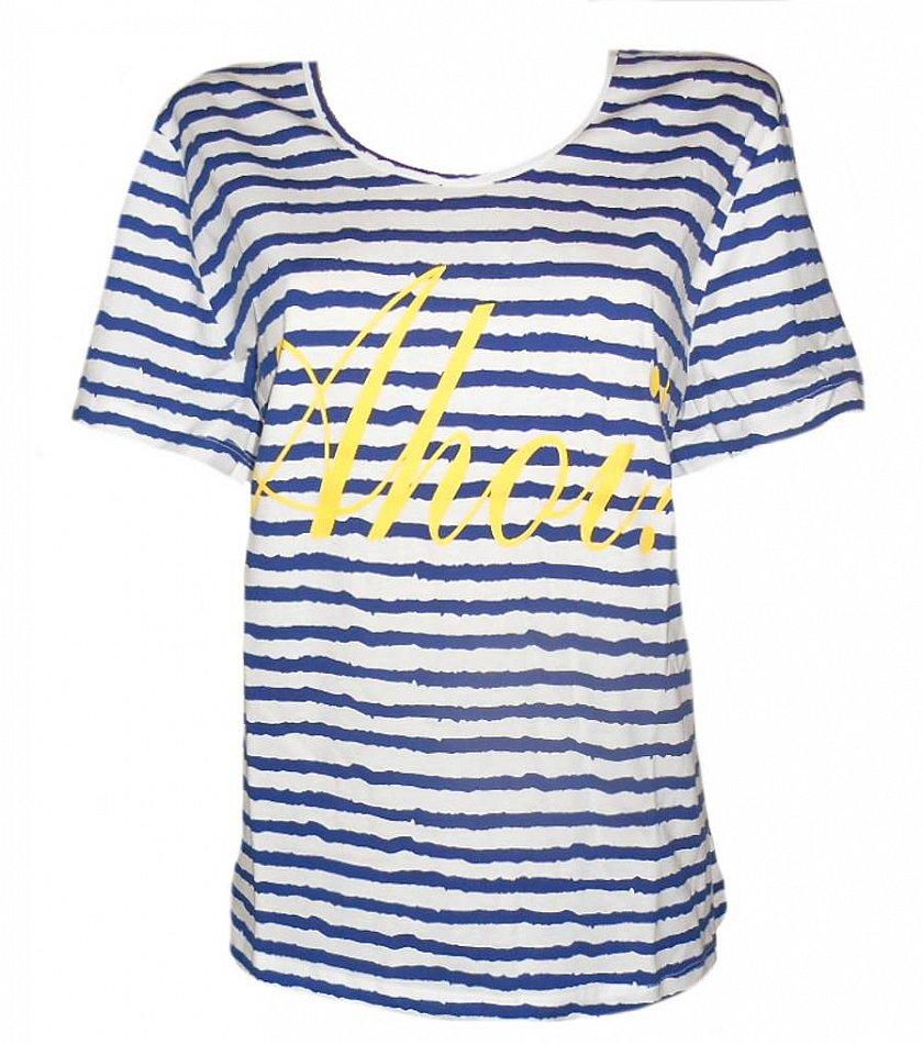 Shirt maritim Streifen 44//46 NEU