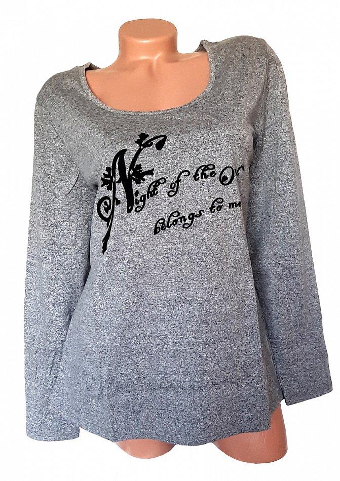 Sheego Damen Shirt Langarm Gr 230 44//46 bis 56//58 weiß V-Ausschnitt NEU