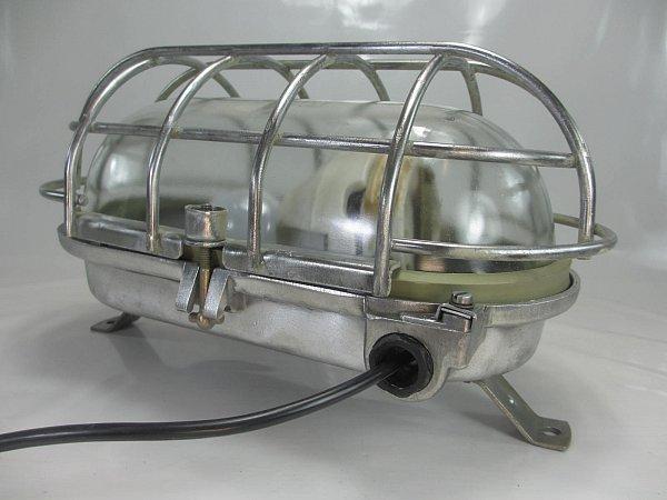 Xxxl antik bergbaulampe bunkerlampe industrie design ex gesch tzt wwandlampe ebay - Wandlampe industriedesign ...