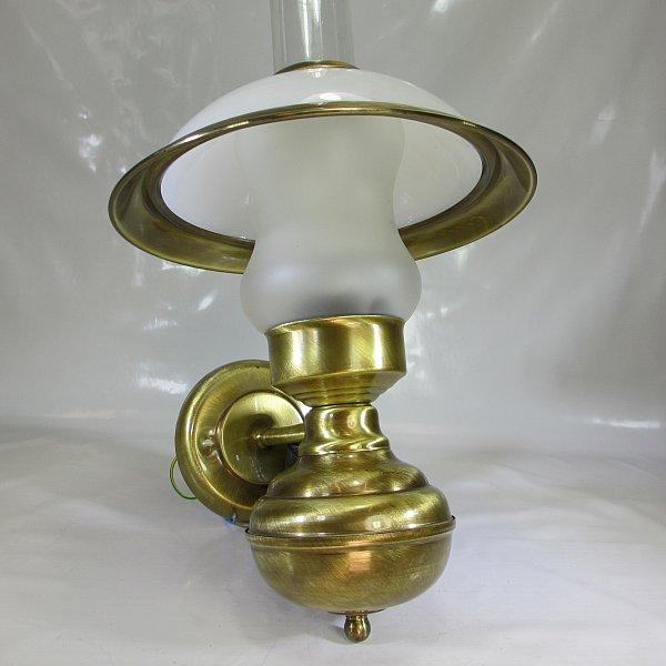 Messing antik stil wandlampe retro petroleumlampe 220v vintage wandleuchte ebay - Wandlampe vintage retro ...