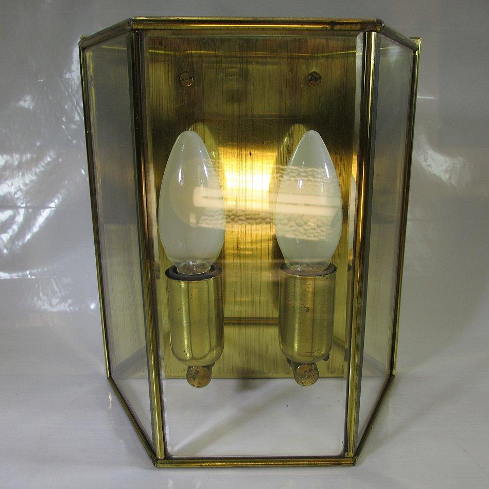 1 von 2 vintage wandlampe antik stil wandleuchte messing for Design lampen nachbau