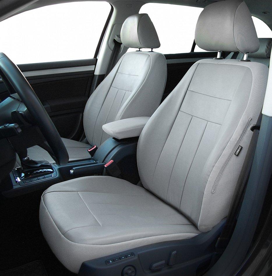 Autositzbezüge Sitzbezüge Maßgefertigt für Audi A4 B6 Erjot Grau