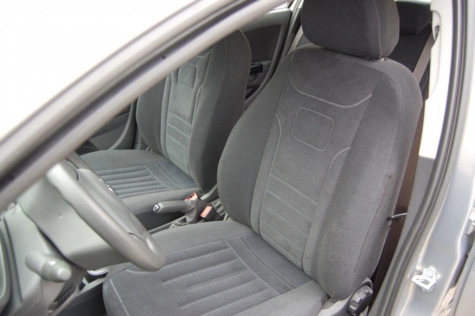 Dacia Logan I Maßgefertigte Atmungsakttive Velours Sitzbezüge VGL1