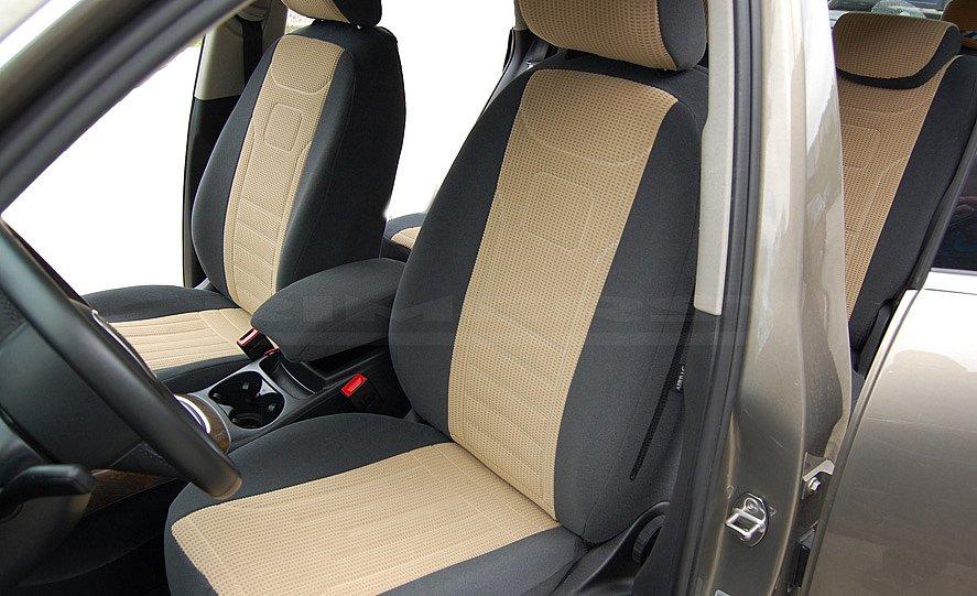 VGG1 Volkswagen Touran II Maßgefertigte Velours Sitzbezüge