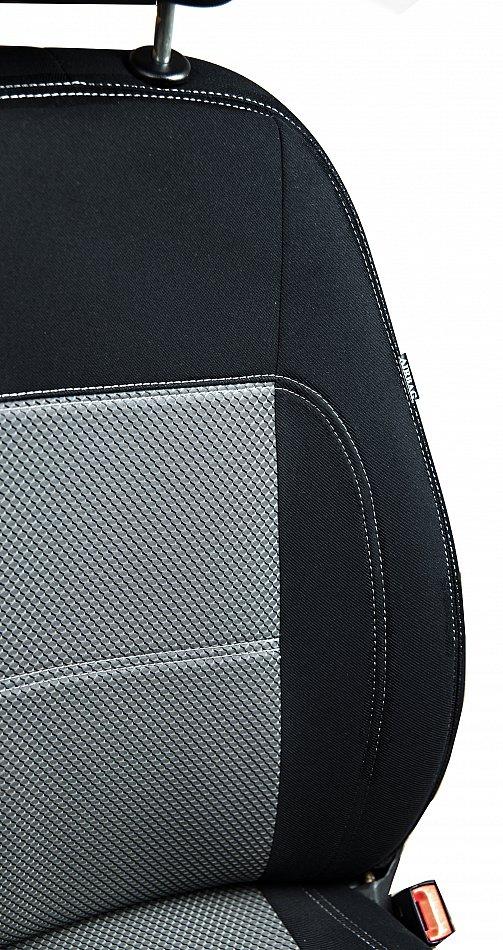 Autositzbezüge Sitzbezüge Maßgefertigt für Suzuki Grand Vitara II  Erjot Grau