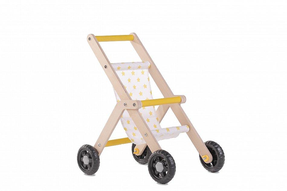 Puppenwagen Holzspielzeug Buggy