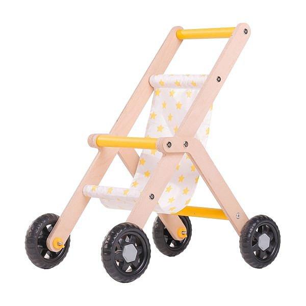 Pupenwagen Holzspielzeug Lauflernhilfe Buggy