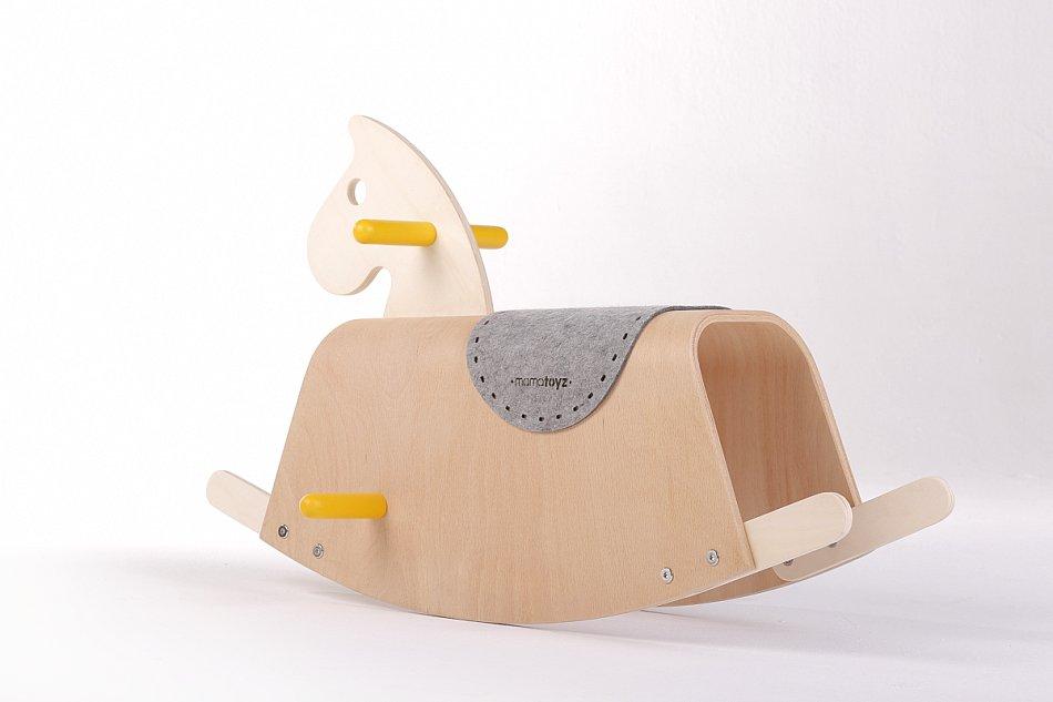 Schaukelpferd Holzspielzeug Midilli mamatoyz
