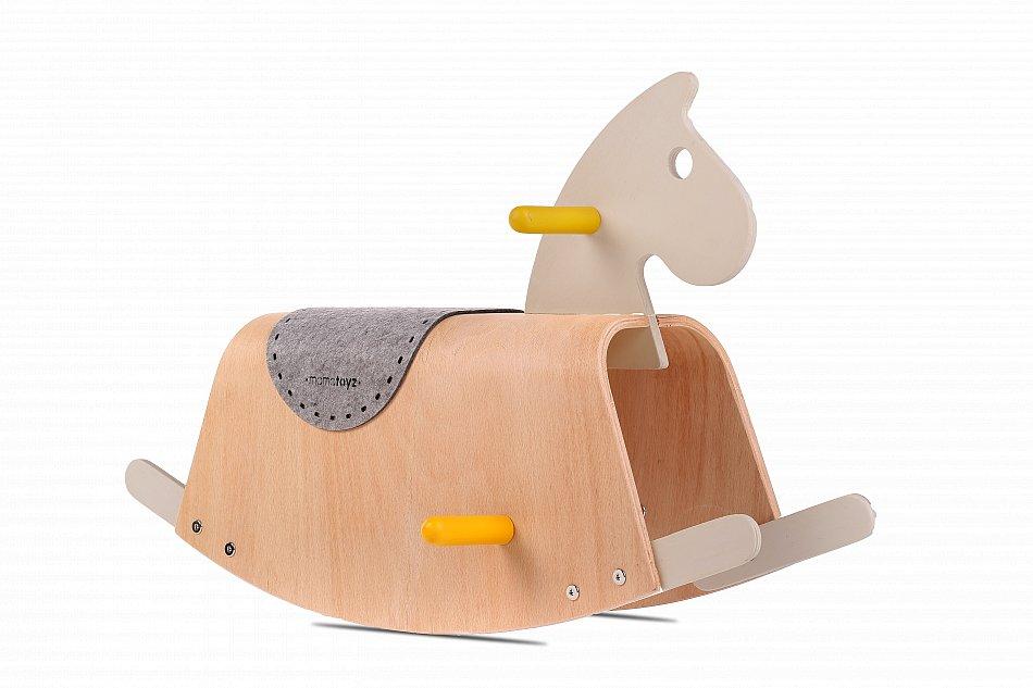 Schaukelpferd Holz Pferd Holzspielzeug