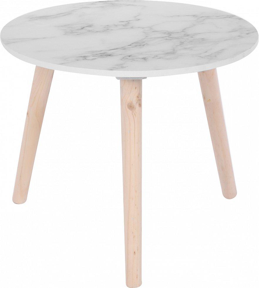 Beistelltisch nachttisch wohzimmertisch c160 c170 40 50cm for Tisch marmoroptik