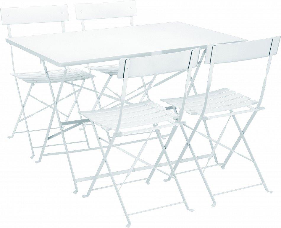 Beautiful Elegant Gartenmbel Tisch Stuhl Bistro Klapptisch Klappstuhl  Camping Garten Metall Tlg Blau Wei Variation With Bistro Klapptisch With  Klapptisch ...