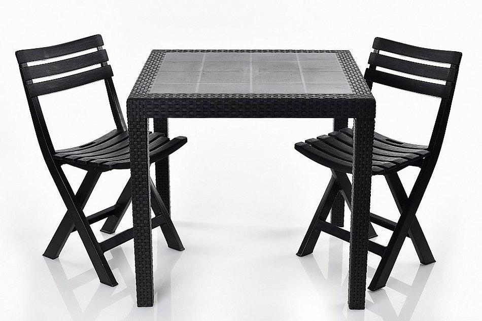 Gartentisch Stuhl Balkonmobel Rattan Optik Gartenmobel King Tisch