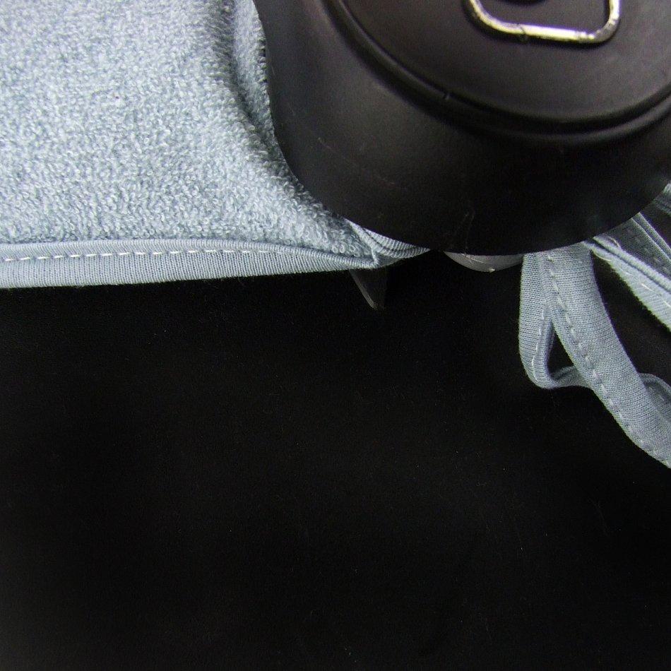 Schonbezug Bezug aus Frottee f/ür Maxi Cosi CabrioFix Blau BAMBINIWELT Sommerbezug