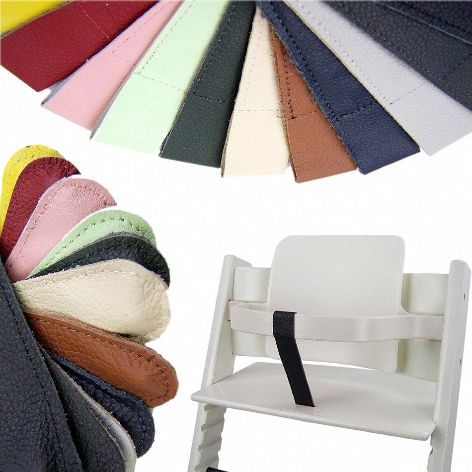 bambiniwelt schrittgurt stokke tripp trapp lederriemen aus echtleder ebay. Black Bedroom Furniture Sets. Home Design Ideas