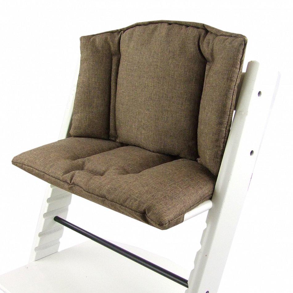 bambiniwelt sitzkissen sitzverkleinerer stokke tripp trapp braun meliert ebay. Black Bedroom Furniture Sets. Home Design Ideas
