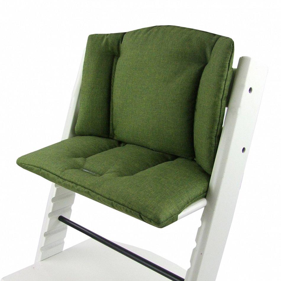 bambiniwelt sitzkissen sitzverkleinerer stokke tripp trapp gr n meliert ebay. Black Bedroom Furniture Sets. Home Design Ideas